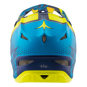 Troy Lee Designs D3 Helmet Starburst Yellow
